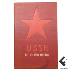 "Книга/альбом ""USSR THE RED ARMY and NAVY"", 1939 год"